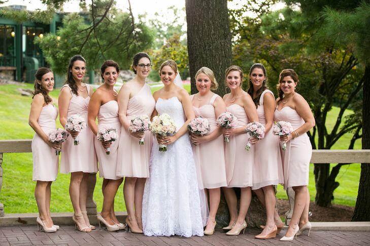 Simple Yet Elegant Wedding Dresses: A Romantic, Elegant Wedding At Tappan Hill Mansion In