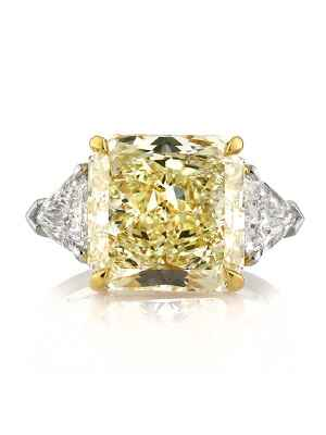 Mark Broumand colored diamond engagement ring