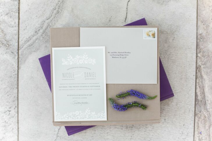 A classic outdoor wedding in huntsville al for Wedding invitations huntsville al