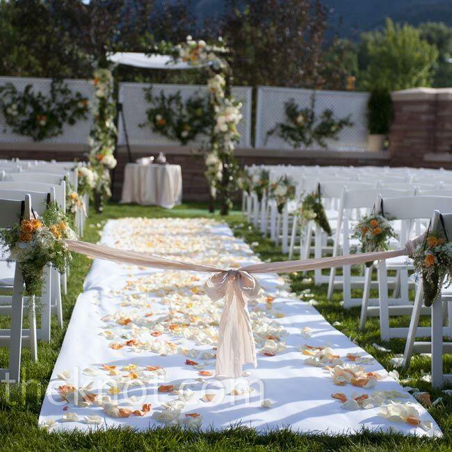 Wedding Aisle: Ceremony Aisle Runner