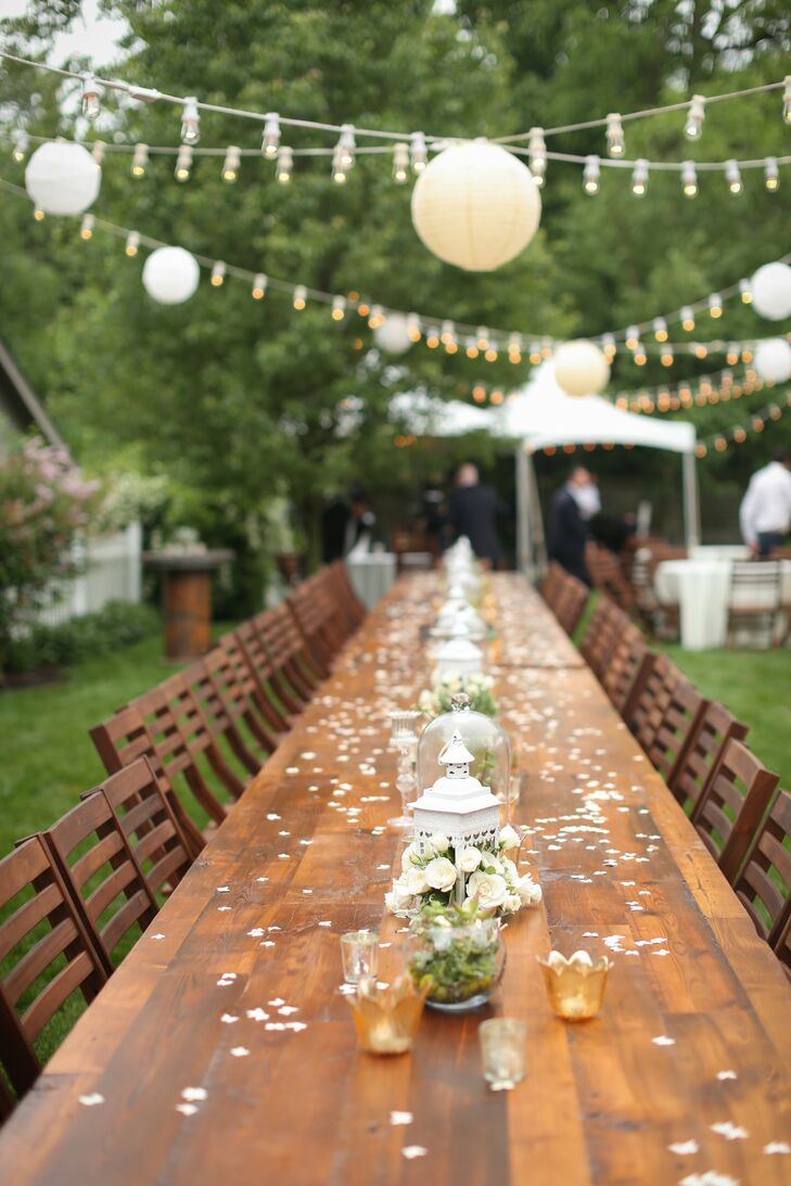 an intimate backyard wedding in rocky river oh