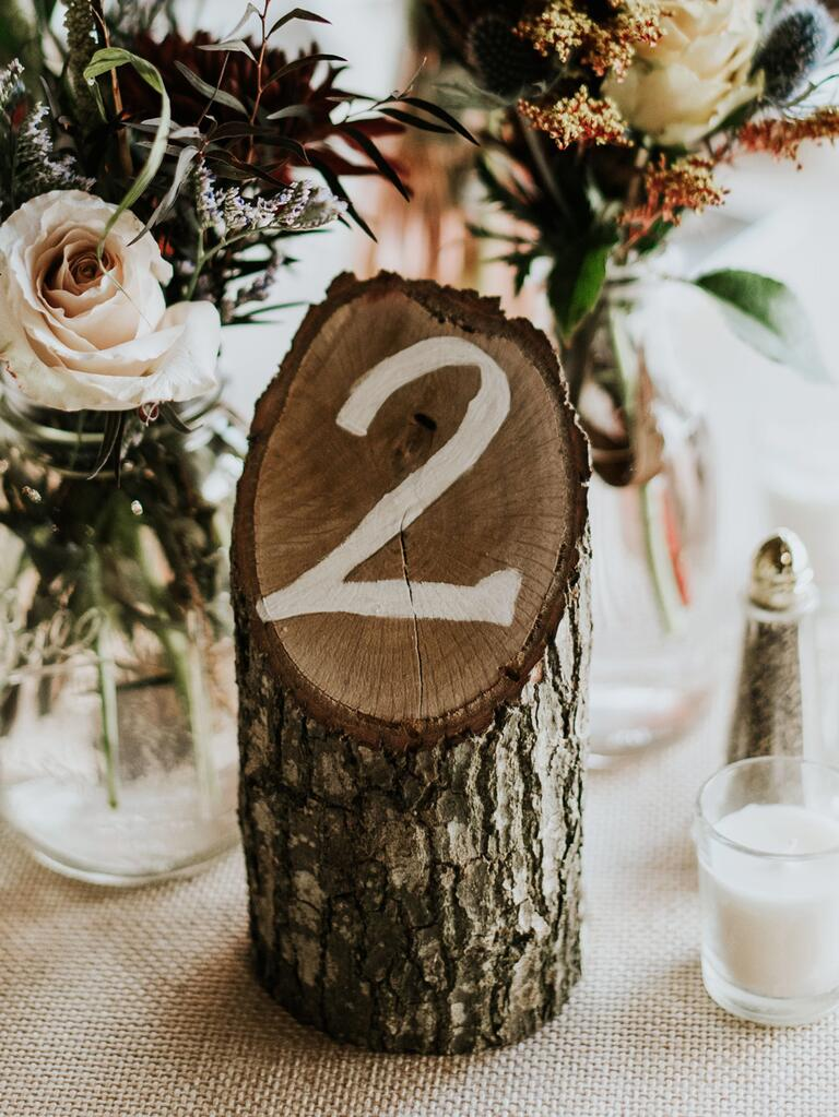 15 Unique Wedding Table Numbers We Ll Help You Recreate