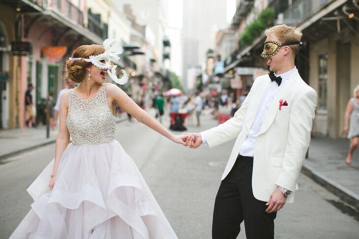 Modern New Orleans-Themed Wedding