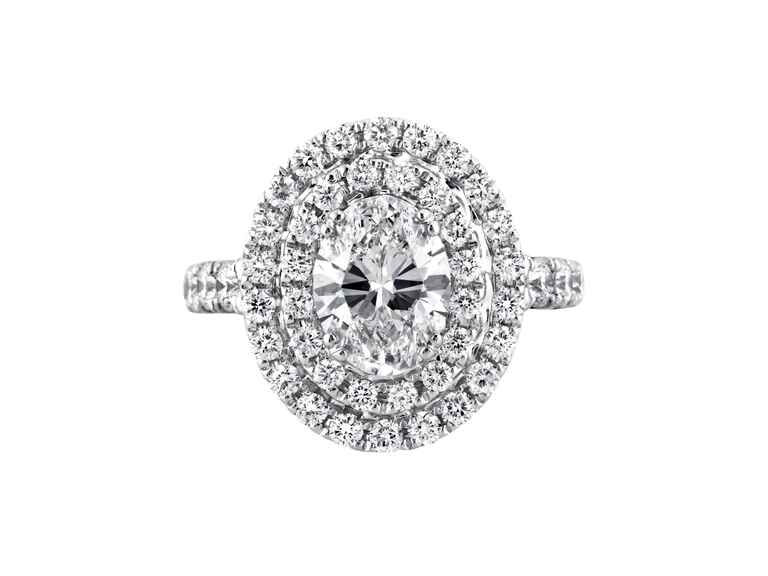 Oval Engagement Ring Mark Broumand