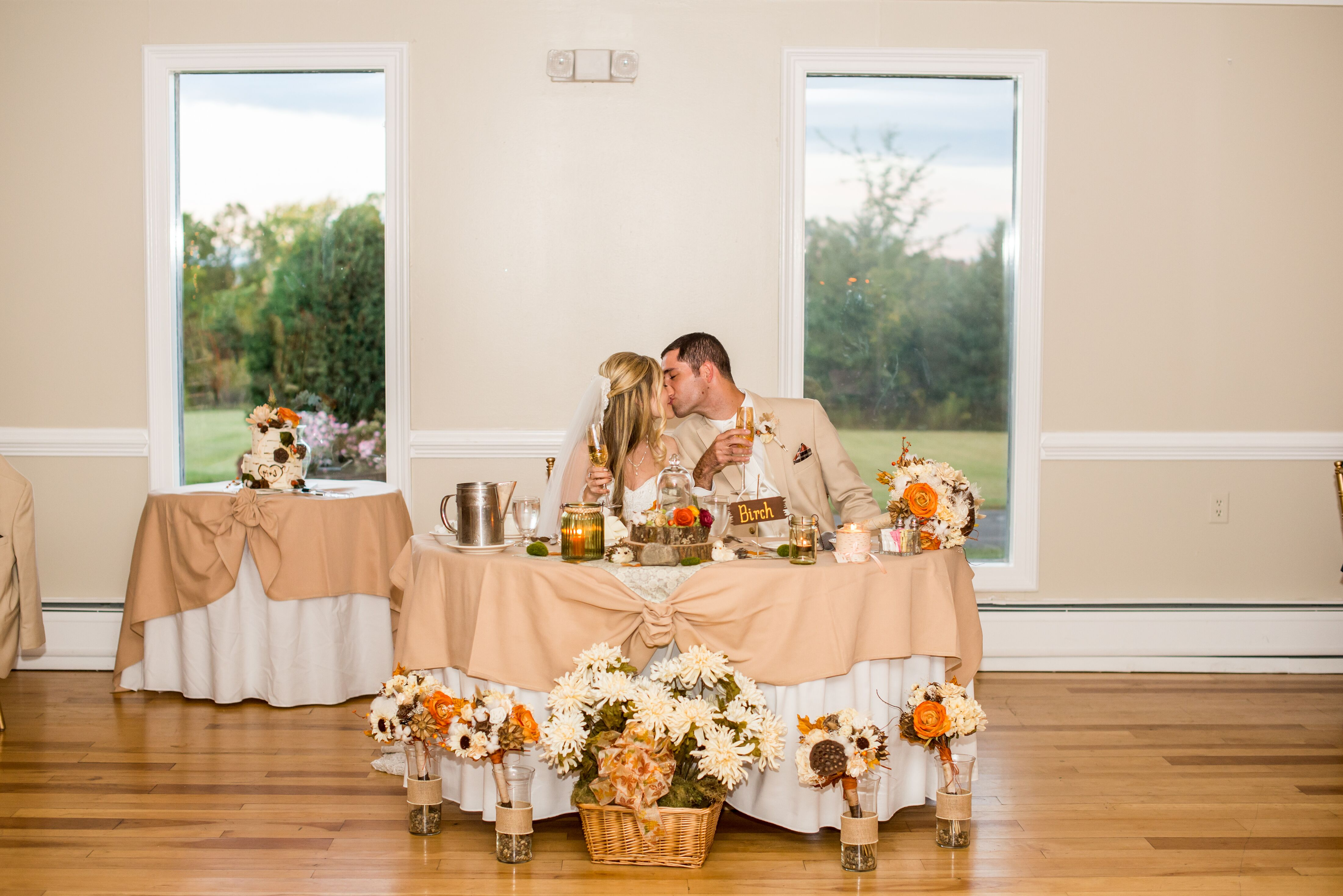 Settles Hill Tree Farm Wedding Reception Venue