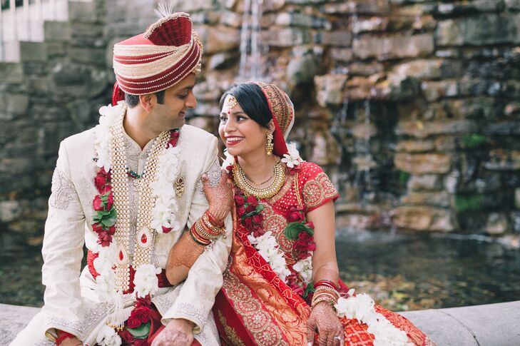 A Indian American Wedding At Cheekwood Botanical Garden And Museum