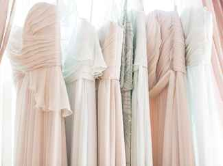 Trunk show wedding and bridesmaids dresses