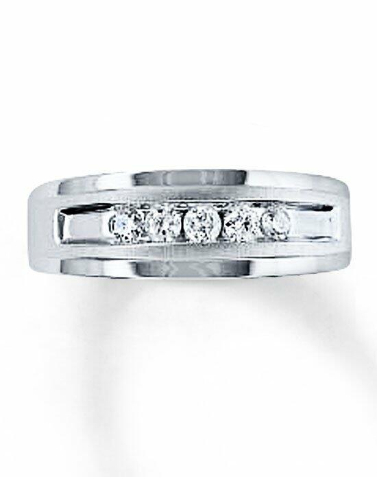 Kay Jewelers 10kw 1/4ct men's diamond ring-51410203 Wedding Ring photo