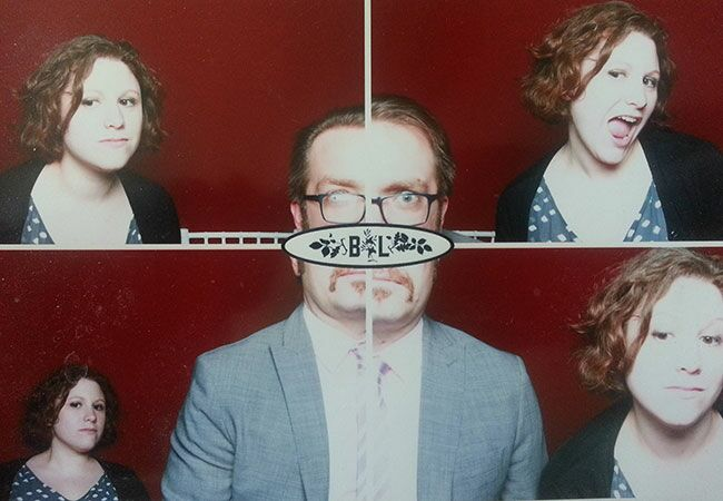 Awkward Wedding Photo Booth Moments — See The Photos!