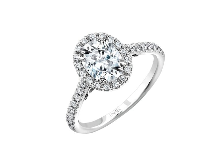 Oval Engagement Ring Uneek