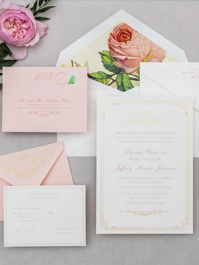 20 Prettiest Wedding Invitations – Cool Places to Send Wedding Invitations