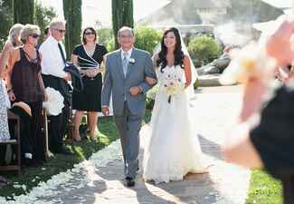 Processional // John & Joseph Photography // Planner: Details Details // Location: Ponte Winery