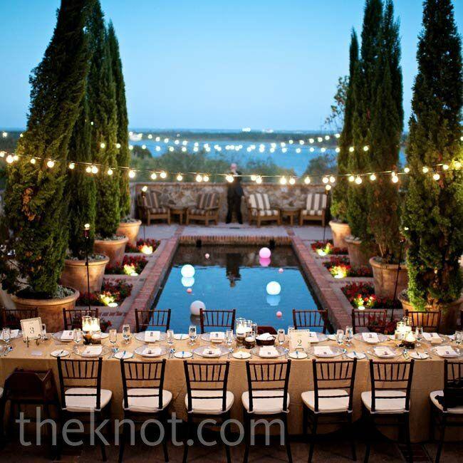 bella collina wedding reception