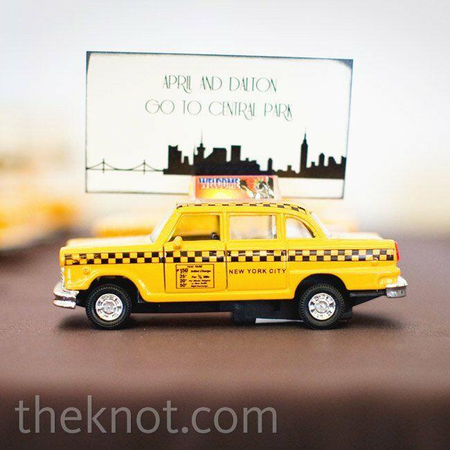 pretty nice 294aa 09231 Taxi Cab Escort Cards