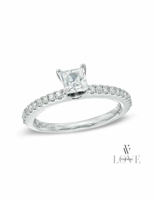 Vera Wang LOVE at Zales Vera Wang LOVE Collection 5/8 CT. T.W. Princess-Cut Diamond Engagement Ring in 14K White Gold  19987452 Engagement Ring photo