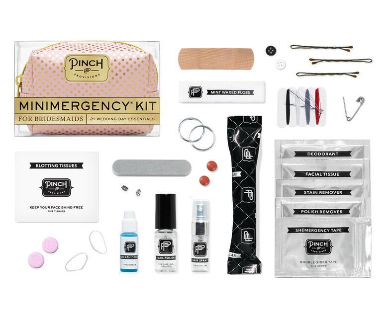 bridesmaid emergency kit