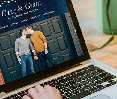 How to Tell Guests About Your Wedding Website
