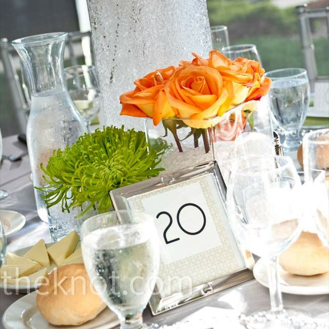 Modern Wedding Centerpieces