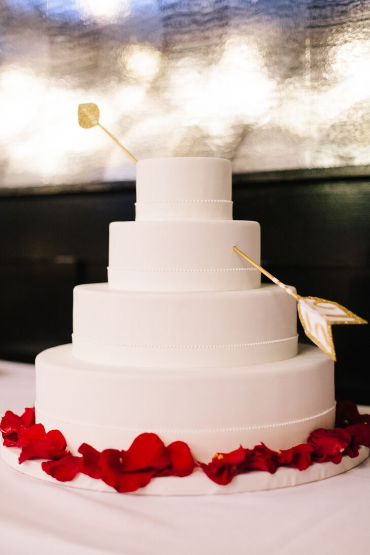 ice cream instead of wedding cake white cupid s arrow wedding cake 16230