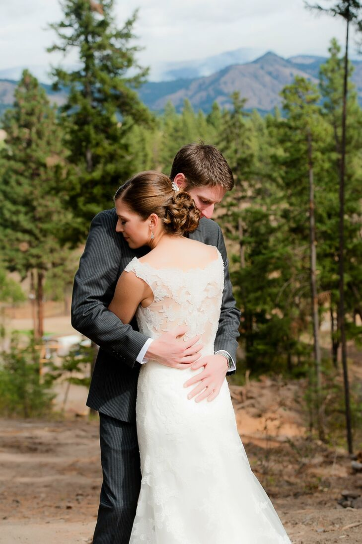 A rustic outdoor wedding in cle elum wa for Outdoor wedding washington state