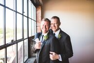 Justin Yoder (35 and a wedding photographer) and Patrick Thompson (37 and a lighting designer) met right after Justin came out and as fate would have