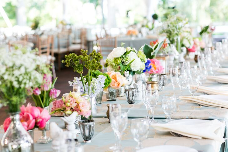Secret Garden Themed Centerpieces