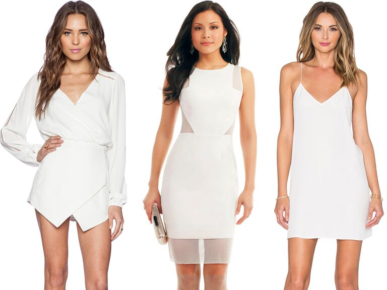 More Than Any Other Wedding Related Event Your Bachelorette Party Outfit Is Chance To Take A Fashion Risk Dying Try Little White Romper Or Get