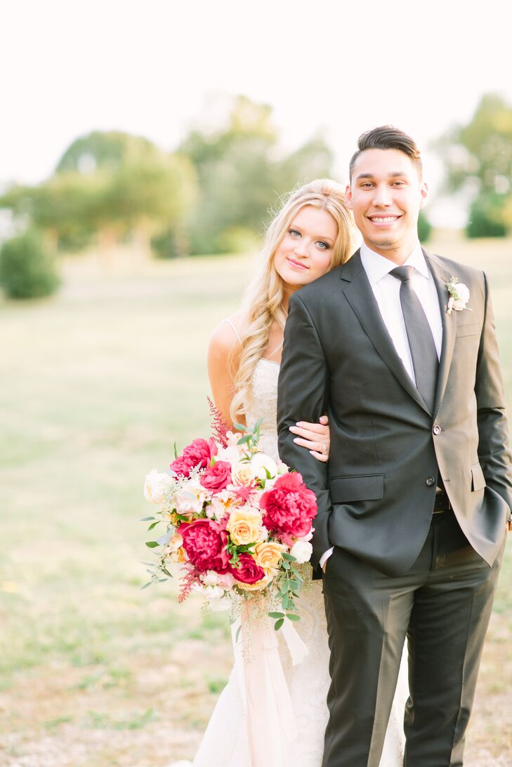 Raelynn Goodman (22 and a corporate relations manager at United Way Metropolitan Dallas) and Carlos Mendez (25 and a project manager at RightNow Medi