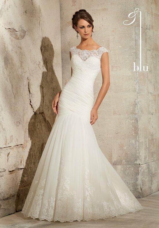 Blu by Madeline Gardner 5305 Wedding Dress photo