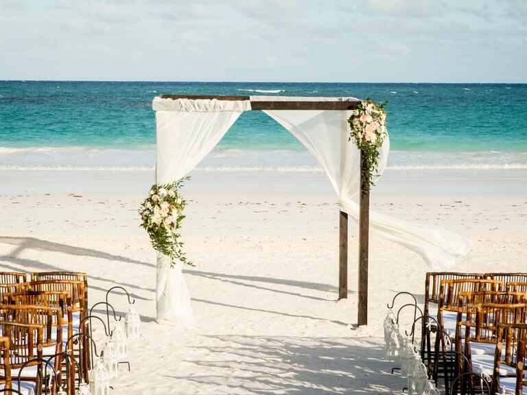 Coral Sands Hotel wedding
