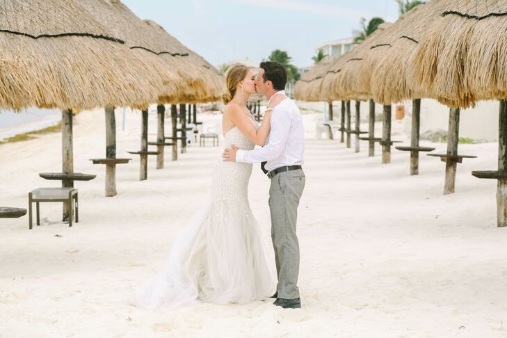 A Beach Destination Wedding At Moon Palace Golf Spa Resort In Cancun Mexico