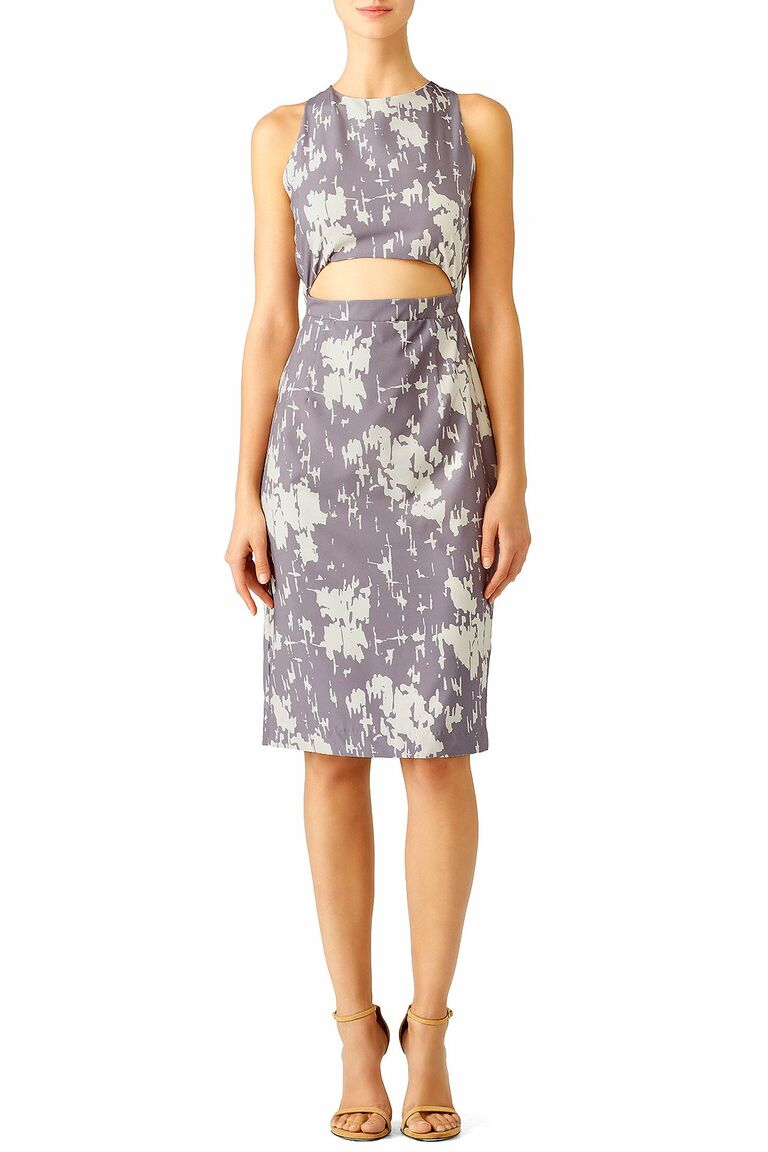 Two Piece Breach Wedding Guest Dress