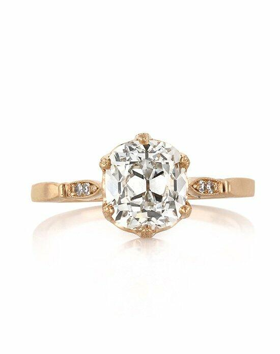 Mark Broumand 2.06ct Antique Cushion Brilliant Diamond Engagement Anniversary Ring Engagement Ring photo