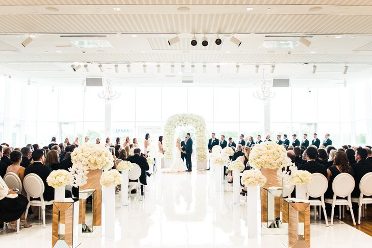 A Modern Glamorous Wedding At The Columbus Museum Of Art In Ohio