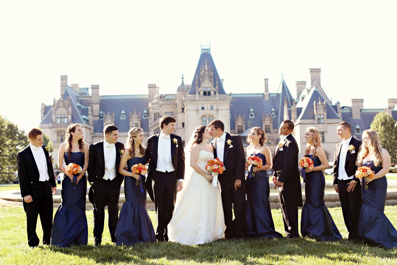 A formal fall wedding at biltmore estate in asheville for Wedding dresses asheville nc