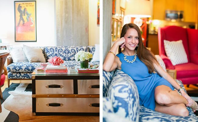Inside U.S. Army Captain Katie del Castillo's Washington DC Apartment