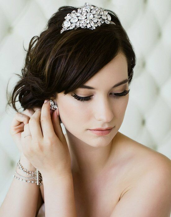 Sara Gabriel Opal Tiara Wedding Accessory photo
