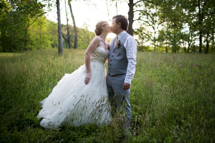 A Woodsy Garden Wedding At Brown County State Park In Nashville Indiana
