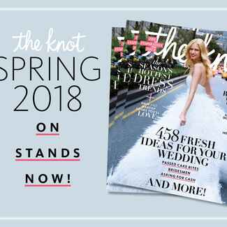 The Knot Spring 2018 magazine subscription details