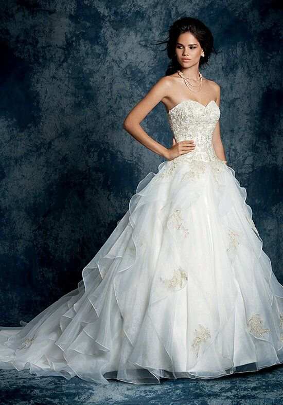 Alfred angelo sapphire wedding dresses for D angelo wedding dresses