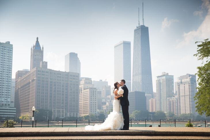 In search of a timeless Windy City venue that exuded sophistication, Emily Wray and Tyler Kirkwood booked the Rookery before teaming up with Chicago,