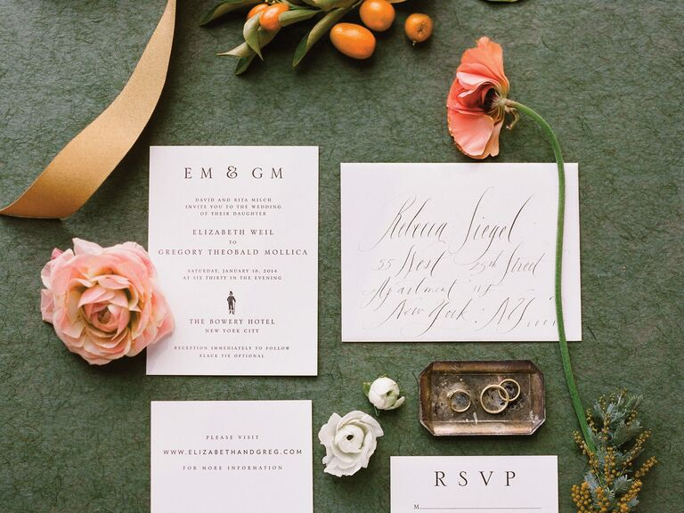 What Is The Etiquette For Wedding Invitations: Wedding Invitations