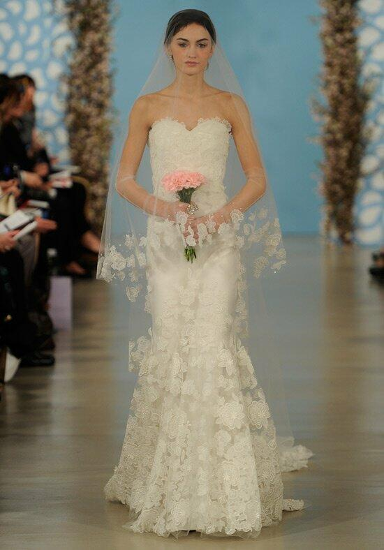 Oscar de la renta bridal 2014 look 2 wedding dress the knot for Where to buy oscar de la renta wedding dress