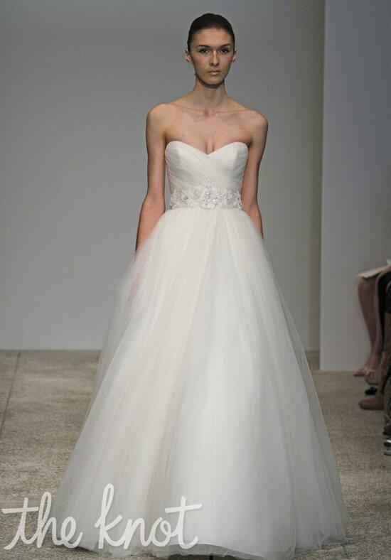 Christos Magnolia Wedding Dress photo