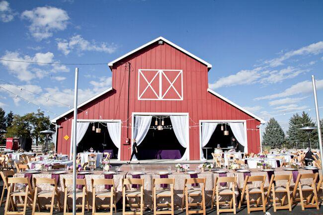 A Rustic Glamorous Barn Wedding In Idaho