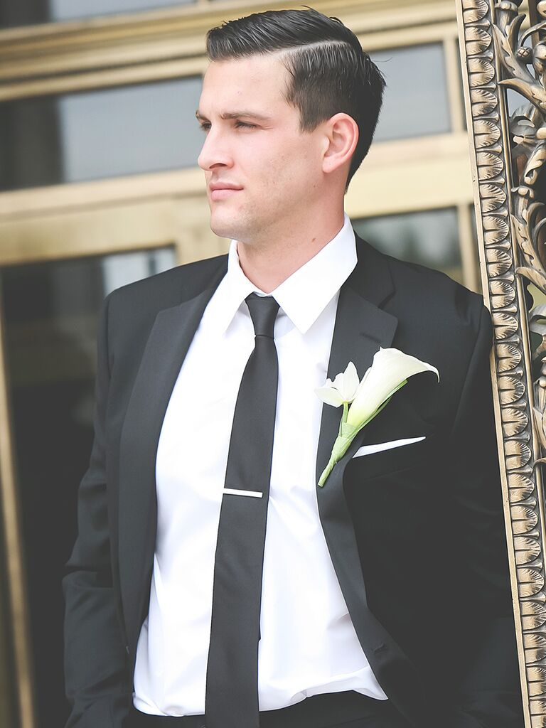 Wedding Hairstyle Ideas For Men S Short Hair