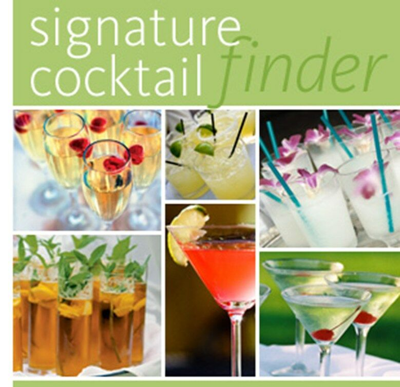 wedding cake signature drink signature cocktail finder 24541