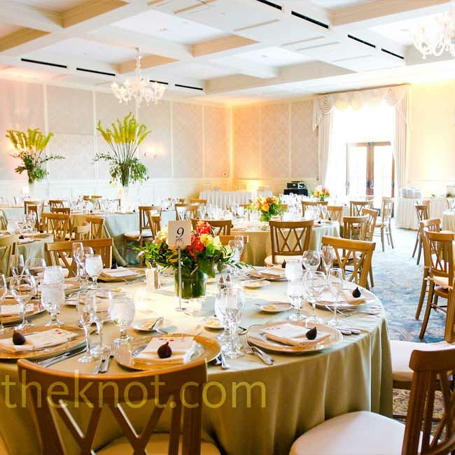 Green And Gold Wedding Decorations: A Cultural Wedding In Rochester, MI