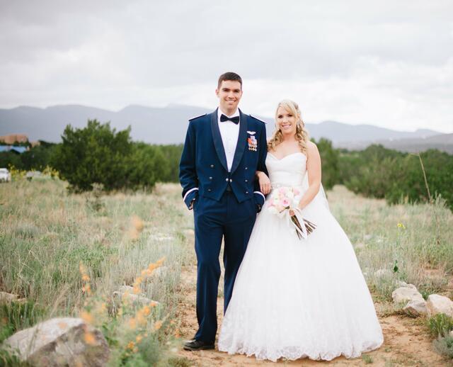 A Nature Pointe Wedding In Albuquerque New Mexico