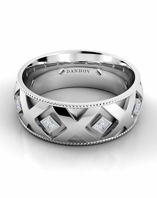 Danhov Classico Flat X Band Wedding Ring photo
